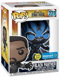 Figurine Funko Pop Black Panther [Marvel] #273 Black Panther - Brille dans le noir