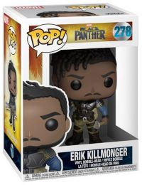 Figurine Funko Pop Black Panther [Marvel] #278 Erik Killmonger