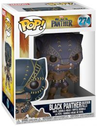 Figurine Funko Pop Black Panther [Marvel] #274 Black Panther - Chutes des Guerriers
