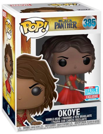 Figurine Funko Pop Black Panther [Marvel] #385 Okoye en robe rouge