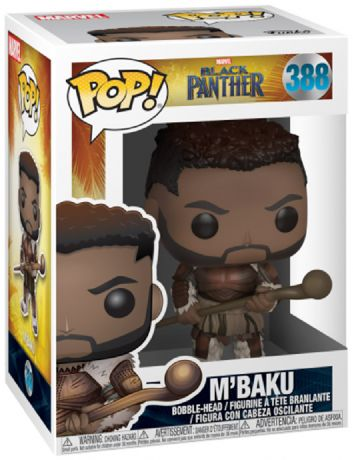 Figurine Funko Pop Black Panther [Marvel] #388 M'Baku