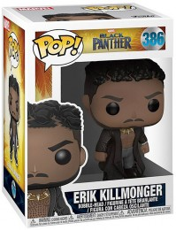 Figurine Funko Pop Black Panther [Marvel] #386 Erik Killmonger avec cicatrices