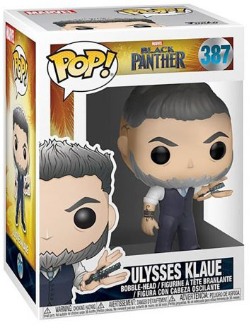 Figurine Funko Pop Black Panther [Marvel] #387 Ulysses Klaue