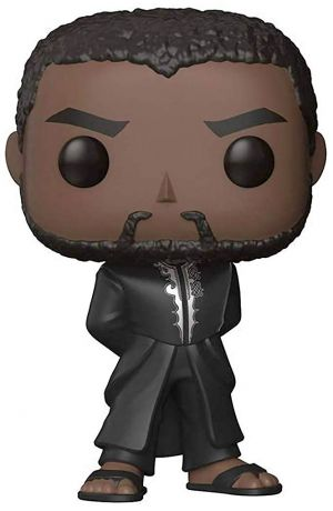 Figurine Funko Pop Black Panther [Marvel] #351 T'Challa - Tenue noire