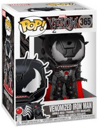 Figurine Funko Pop Venom [Marvel] #365 Iron Man Venomisé