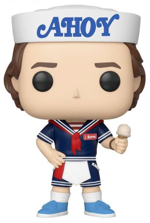 Figurine Funko Pop Stranger Things #803 Steve avec glace