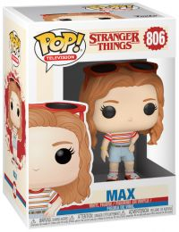 Figurine Funko Pop Stranger Things #806 Max en tenue de shopping