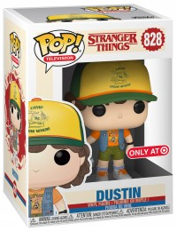 Figurine Funko Pop Stranger Things #828 Dustin avec gilet