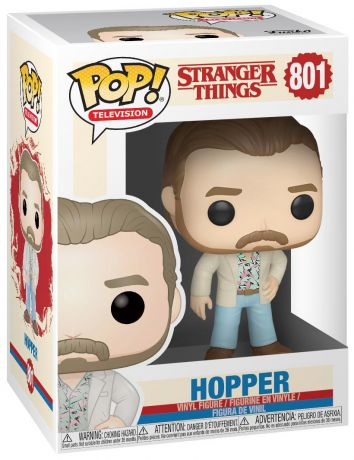 Figurine Funko Pop Stranger Things #801 Hopper - Romantique
