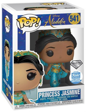Figurine Funko Pop Aladdin le film [Disney] #541 Princesse Jasmine - Diamond Collection