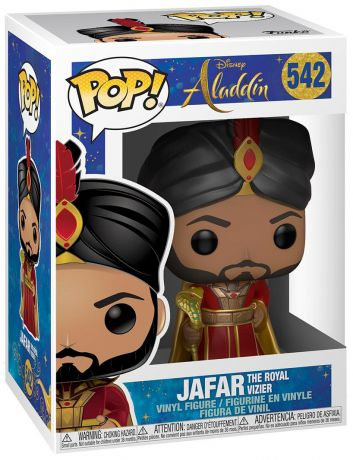 Figurine Funko Pop Aladdin le film [Disney] #542 Jafar le Vizir Royal