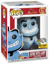 Figurine Funko Pop Aladdin [Disney] #476 Génie avec lampe - Diamond Collection