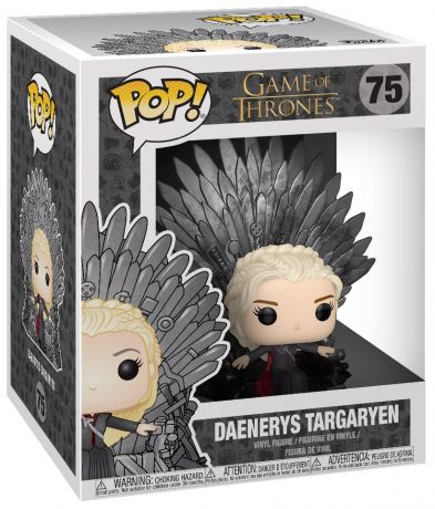 Figurine Funko Pop Game of Thrones #75 Daenerys Targaryen sur Trône de Fer
