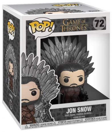 Figurine Funko Pop Game of Thrones #72 Jon Snow sur Trône de Fer