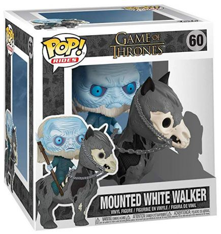 Figurine Funko Pop Game of Thrones #60 Marcheur Blanc sur cheval