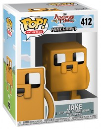 Figurine Pop Adventure Time #412 Jake le chien - Style Minecraft pas chère