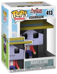 Figurine Pop Adventure Time #413 Marceline la reine vampire - Style Minecraft pas chère