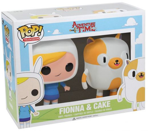 Figurine Funko Pop Adventure Time #00 Fiona et Cake