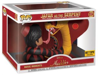 Figurine Funko Pop Aladdin [Disney] #554 Jafar en serpent