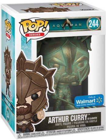 Figurine Funko Pop Aquaman [DC] #244 Arthur Curry - Patine de gladiateur