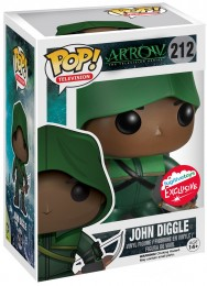 Figurine Pop Arrow [DC] #212 John Diggle en archer pas chère