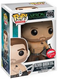 Figurine Funko Pop Arrow [DC] #260 Oliver Queen rescapé de l'île