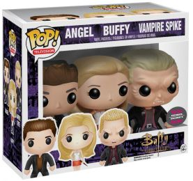 Figurine Funko Pop Buffy contre les vampires # Buffy, Angel, Spike - Pack de 3