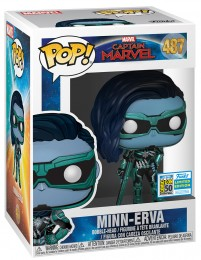 Figurine Funko Pop Captain Marvel [Marvel] #487 Minn-Erva