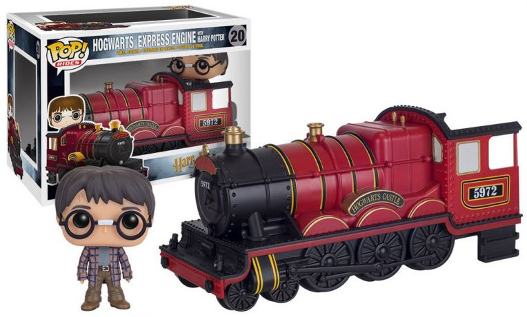 Figurine Funko Pop Harry Potter #20 Poudlard Express Locomotive et Harry Potter
