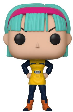 Figurine Funko Pop Dragon Ball #385 Bulma en robe jaune (DBZ)
