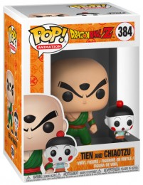 Figurine Pop Dragon Ball #384 Tien & Chiaotzu / Dragon Ball Z pas chère