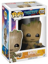 Figurine Funko Pop Les Gardiens de la Galaxie 2 [Marvel] #202 Groot