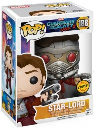 Figurine Funko Pop Les Gardiens de la Galaxie 2 [Marvel] #198 Star-Lord [Chase]