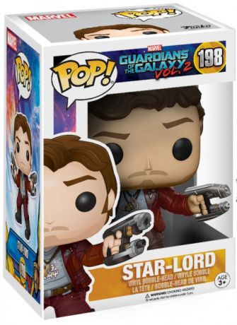 Figurine Funko Pop Les Gardiens de la Galaxie 2 [Marvel] #198 Star-Lord