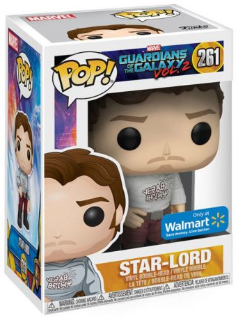 Figurine Funko Pop Les Gardiens de la Galaxie 2 [Marvel] #261 Star-Lord
