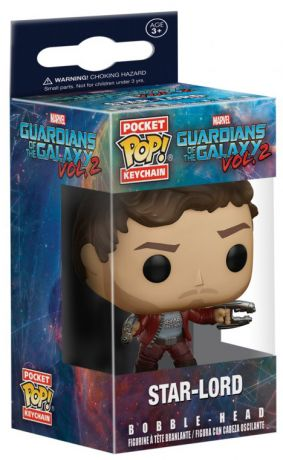 Figurine Funko Pop Les Gardiens de la Galaxie 2 [Marvel] #00 Star-Lord