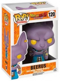 Figurine Pop Dragon Ball #120 Beerus / Dragon Ball Z pas chère