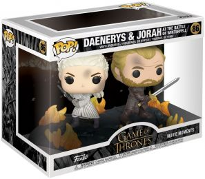 Figurine Funko Pop Game of Thrones #86 Daenerys et Jorah à la bataille de Winterfell