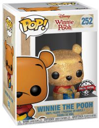 Figurine Funko Pop Winnie l'Ourson [Disney] #252 Winnie l'Ourson assis - Diamond Glitter