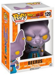 Figurine Pop Dragon Ball #120 Beerus - Metallic / Dragon Ball Z pas chère