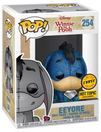 Figurine Funko Pop Winnie l'Ourson [Disney] #254 Bourriquet - Diamond Glitter [Chase]