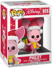Figurine Funko Pop Winnie l'Ourson [Disney] #615 Porcinet Noël