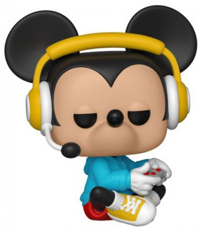 Figurine Funko Pop Mickey Mouse - 90 Ans [Disney] #515 Gamer Mickey assis