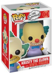 Figurine Funko Pop Les Simpson #4 Krusty le clown