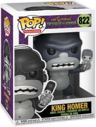 Figurine Funko Pop Les Simpson #822 King Homer