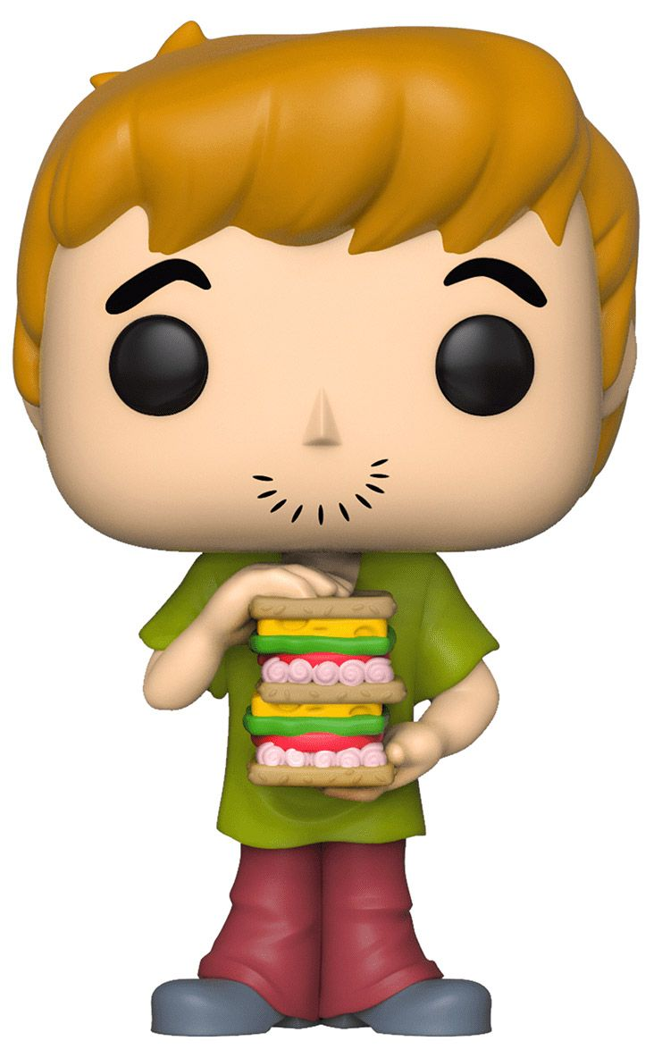 Figurine pop scooby doo 626 pas ch re sammy avec sandwich - Scooby doo sammy ...