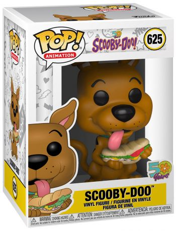 Figurine Funko Pop Scooby-Doo #625 Scooby Doo with Sandwich