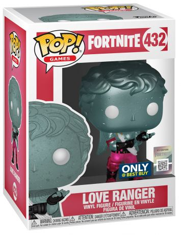Figurine Funko Pop Fortnite #432 Ranger de l'Amour - Métallique