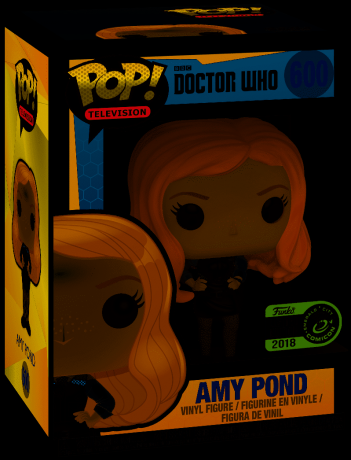 Figurine Funko Pop Doctor Who #600 Amy Pond en uniforme
