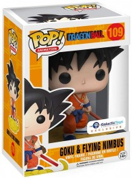 Figurine Pop Dragon Ball #109 Goku & Nuage Magique - Tenue Orange / Dragon Ball pas chère